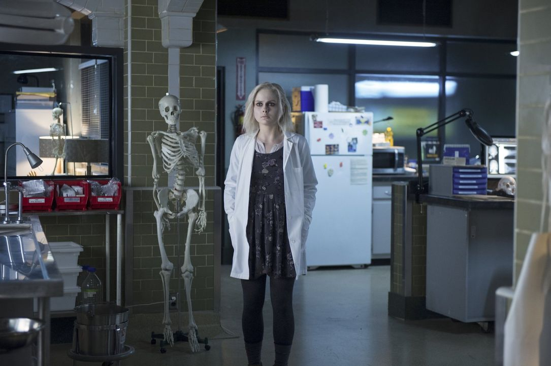 Für Liv (Rose McIver) ist es nicht einfach, immer wieder auf ihren Ex-Verlobten zu treffen - vor allem nachdem das Gehirn eines Mordopfers ihre Leid... - Bildquelle: Warner Brothers