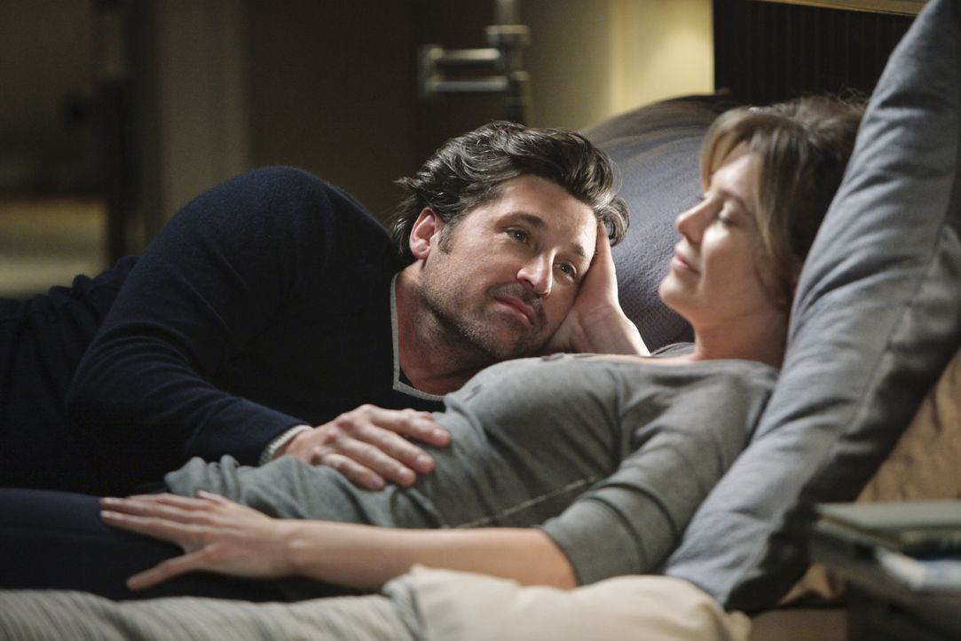 Dr. Derek Shepherd (Patrick Dempsey, l.); Dr. Meredith Grey (Ellen Pompeo, r.) - Bildquelle: Adam Taylor 2010 American Broadcasting Companies, Inc. All rights reserved. / Adam Taylor