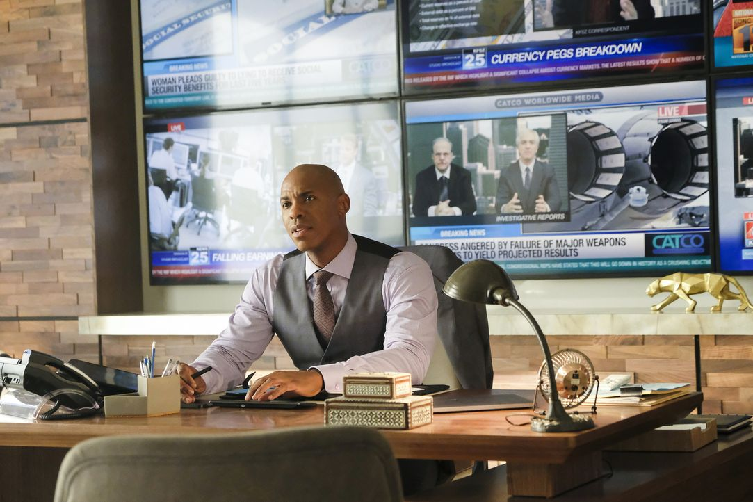 James Olsen (Mehcad Brooks) - Bildquelle: Bettina Strauss 2018 The CW Network, LLC. All Rights Reserved.