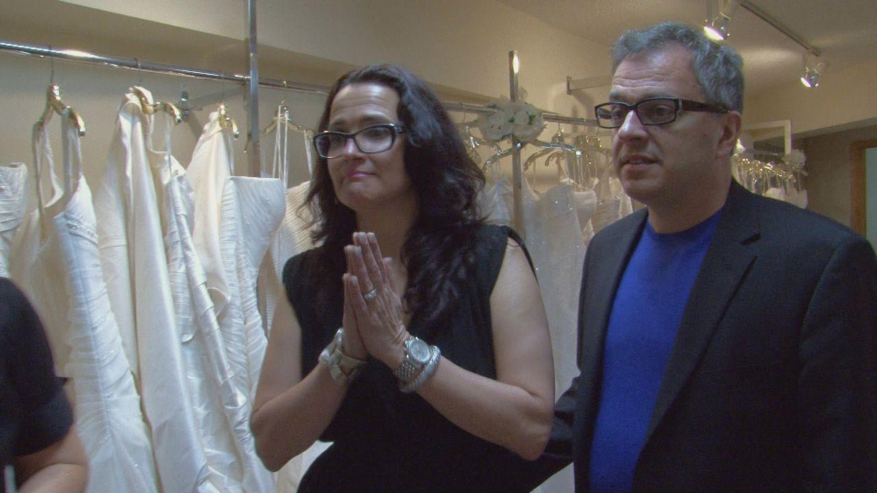 """In ihrem Geschäft """"House of Botticelli"""" suchen Rick (r.) und Leslie (l.) nach dem perfekten Hochzeitskleid für jede Kundin ... - Bildquelle: TLC"""
