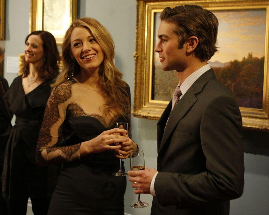 Serena (Blake Lively, l.) und Nate (Chace Crawford, r.) wirken glücklich - doch sind sie es wirklich? - Bildquelle: Warner Brothers.