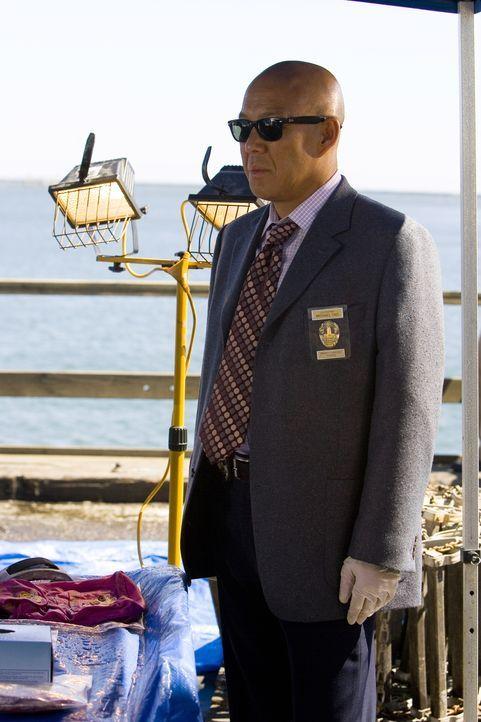 Wie auch seine Kollegen ist Detective Lieutenant Michael Tao (Michael Paul Chan) fassungslos darüber, dass Mutter und Tochter wohl mit der japanisch... - Bildquelle: Warner Brothers