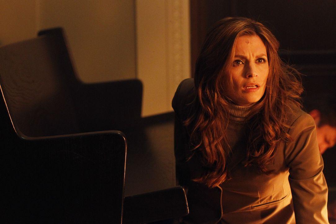 Die Gerichtsverhandlung hat noch gar nicht angefangen, da kommt es zu einem Eklat, bei dem Kate Beckett (Stana Katic) in große Gefahr gerät ... - Bildquelle: ABC Studios