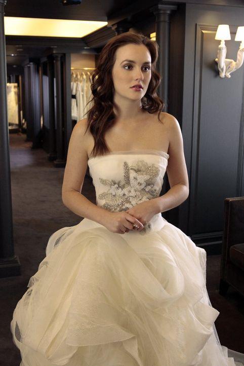 Bereitet sich auf ihre bevorstehende königliche Hochzeit vor: Blair (Leighton Meester) ... - Bildquelle: Warner Bros. Television