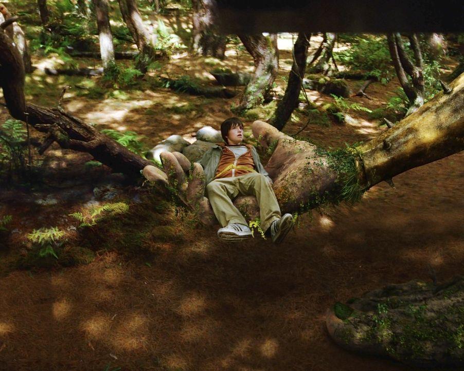 In der Phantasie ist einfach alles möglich: Jess (Josh Hutcherson) ... - Bildquelle: 2006 Constantin Film, München