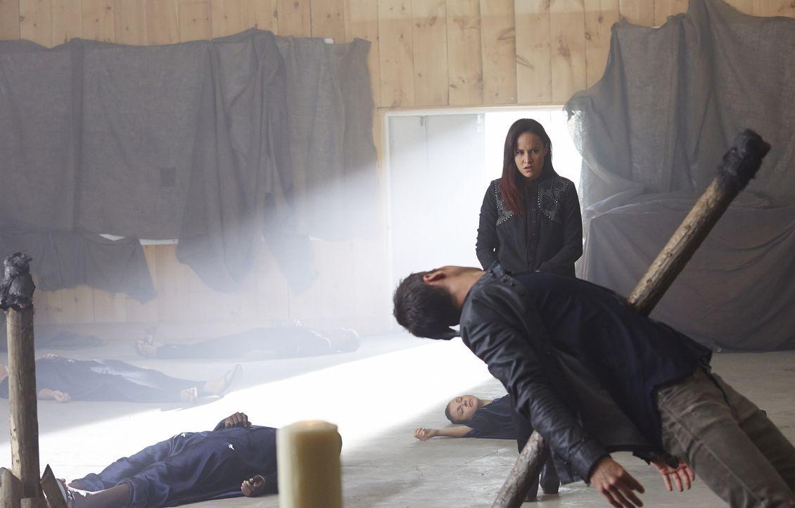 Konnte Paige (Tommie-Amber Pirie) Aleister wirklich aus dem Weg räumen? - Bildquelle: 2015 She-Wolf Season 2 Productions Inc.