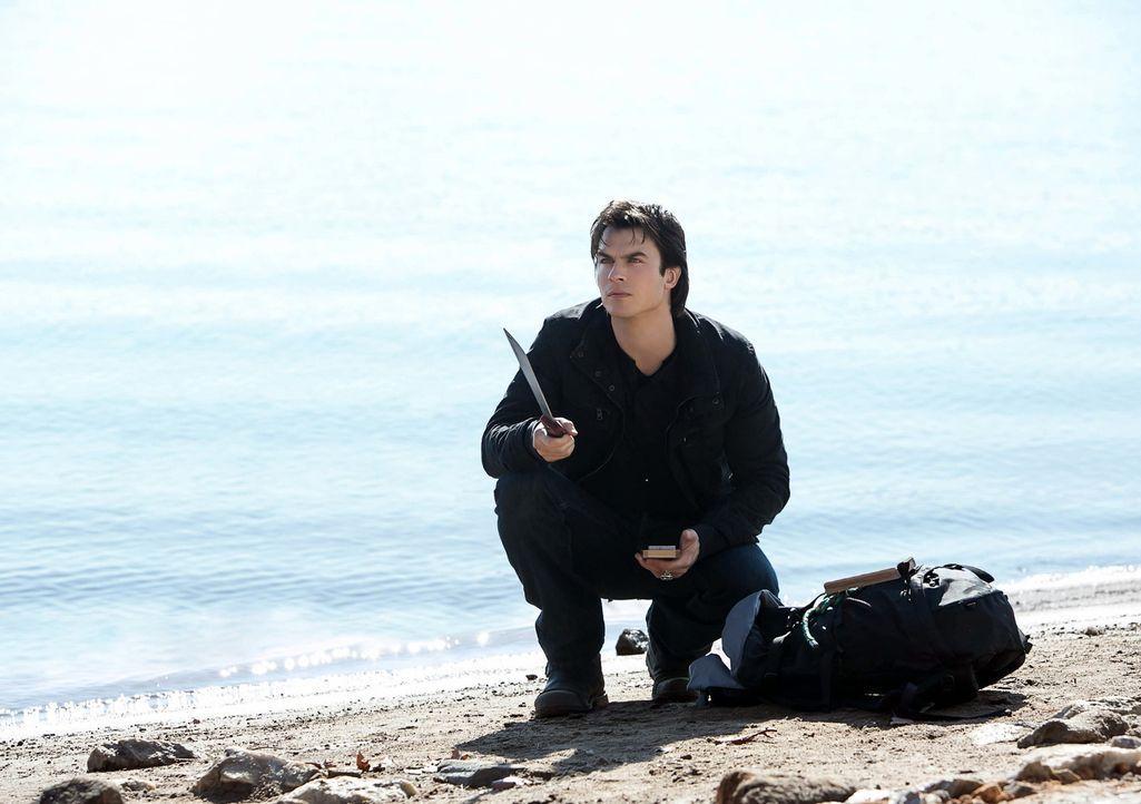 Ist Damon (Ian Somerhalder) der Einzige, der das wahre Wesen von Atticus Shane erkennt? - Bildquelle: Warner Bros. Television