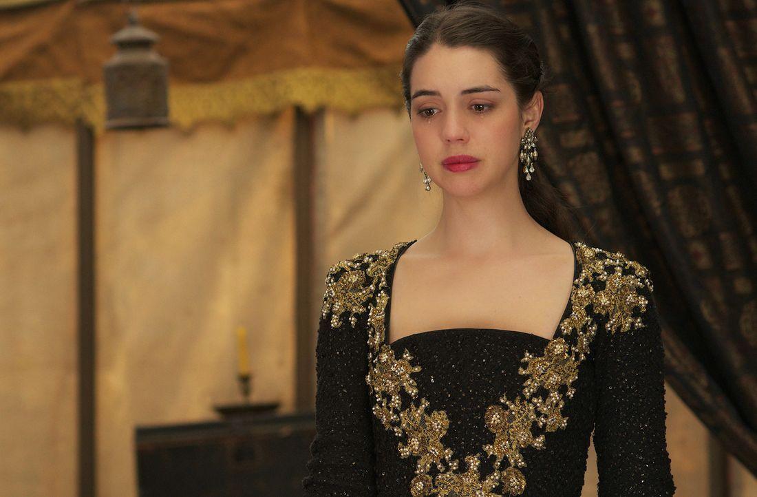 Condés Pläne, Francis zu töten und Frankreichs neuer König zu werden, treiben Mary (Adelaide Kane) zum Äußersten ... - Bildquelle: Sven Frenzel 2014 The CW Network, LLC. All rights reserved.