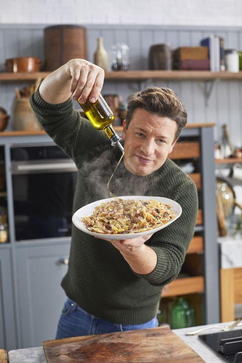 (2. Staffel) Jamie Oliver - Bildquelle: Steve Ryan