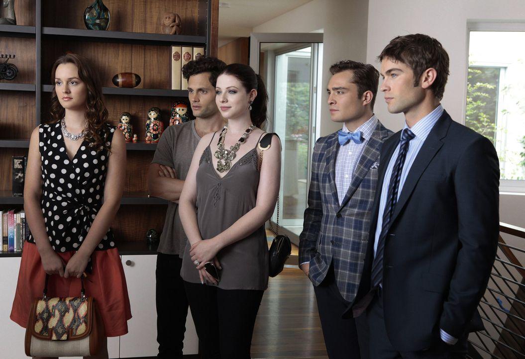 Blair, Georgina und Nate in Staffel 6 Gossip Girl - Bildquelle: Warner Bros. Television
