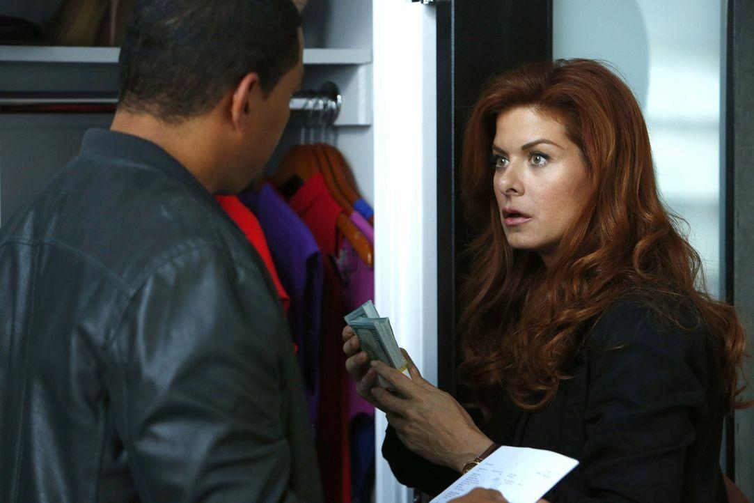 Ermitteln in einem Mordfall: Billy (Laz Alonso, l.) und Laura (Debra Messing, r.) müssen einen Mörder stellen, nachdem eine Frau in einem Party-Bus... - Bildquelle: Warner Bros. Entertainment, Inc.