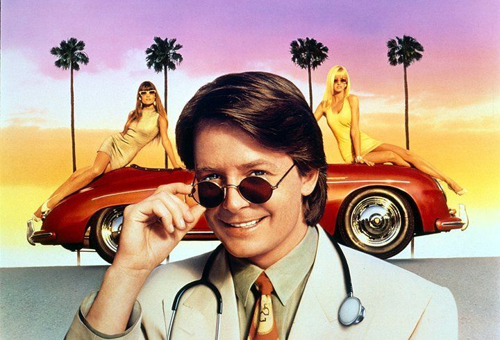 Unfreiwillig bleibt der Großstadt-Yuppie Ben Stone (Michael J. Fox) auf seiner Reise nach Hollywood in dem Provinznest Grady hängen ... - Bildquelle: Warner Bros.