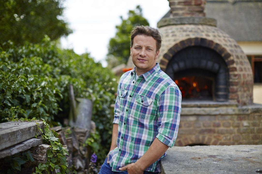 (1. Staffel) - Die Gerichte aus der Wohlfühlküche kocht Jamie Oliver, wenn er feiert, wenn er aufgeregt ist oder, wenn er seinen Liebsten etwas Gute... - Bildquelle: FRESH ONE PRODUCTIONS MMXIV