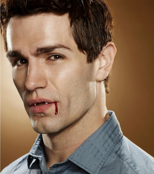 (3. Staffel) - Aiden (Sam Witwer) ist ein Vampir, der gemeinsam mit seinem Freund Josh versucht, seine Andersartigkeit vor der Außenwelt zu verberge... - Bildquelle: 2013 B.H. 2 Productions (Muse) Inc. ALL RIGHTS RESERVED.