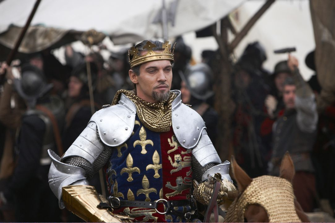 Führt seine Armeen in den Krieg: König Henry VII. von England (Jonathan Rhys Meyers) ... - Bildquelle: 2010 TM Productions Limited/PA Tudors Inc. An Ireland-Canada Co-Production. All Rights Reserved.