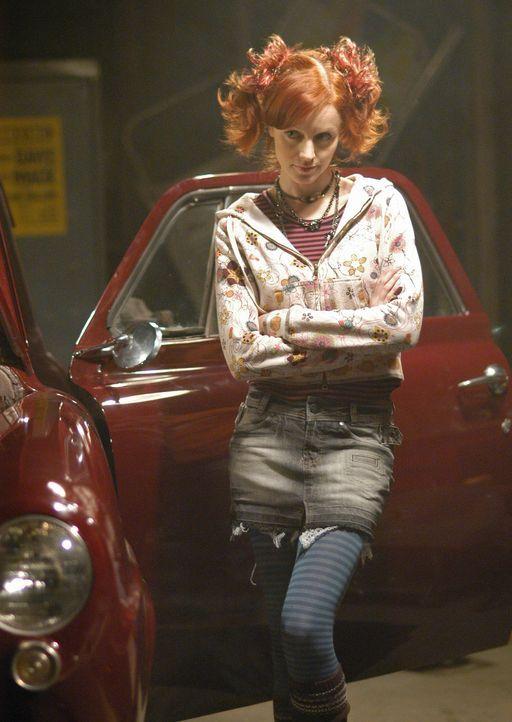 Gelingt es Pizza Girl (Lindy Booth), ihren Liebsten mit dem Oldtimer aus der Wohnung zu locken? - Bildquelle: ABC Studios