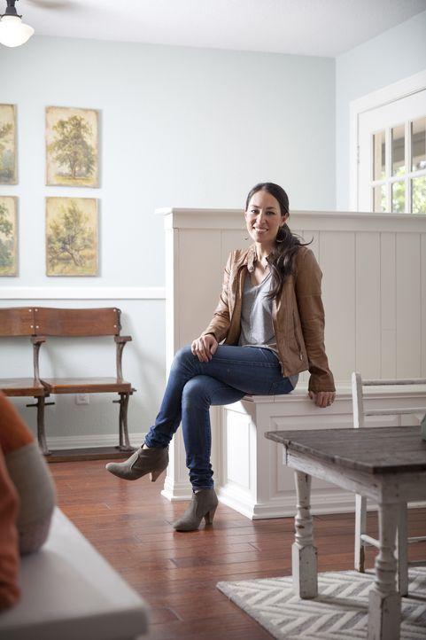 Weiß genau, wie man aus alten Wohnräumen neue Wohnträume macht: Joanna Gaines ... - Bildquelle: Justin Clemons 2014, HGTV/ Scripps Networks, LLC.  All Rights Reserved.