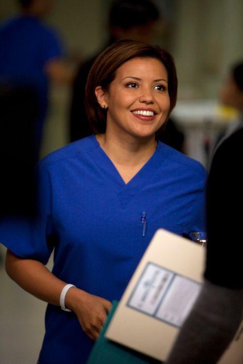 Möchte mehr über Sams Vergangenheit mit Addison wissen: Stephanie (Justina Machado) ... - Bildquelle: ABC Studios