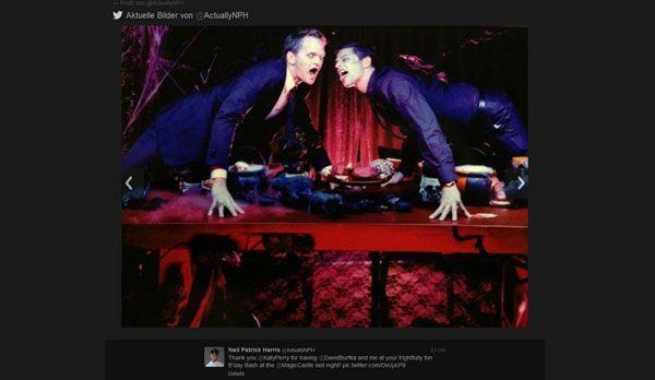Neil Patrick Harris zum Anbeißen schön - Bildquelle: Twitter/Neil Patrick Harris