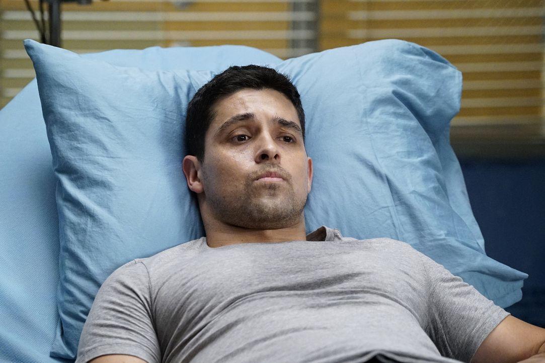 Werden er und Stephanie noch eine Chance auf eine gemeinsame Beziehung haben? Kyle Diaz (Wilmer Valderrama) ... - Bildquelle: Kelsey McNeal ABC Studios