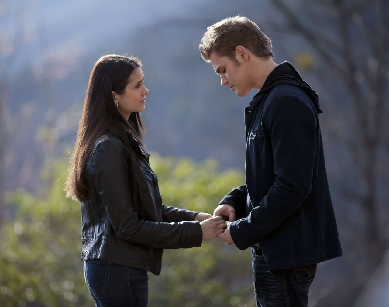 Image result for the vampire diaries stefan and elena