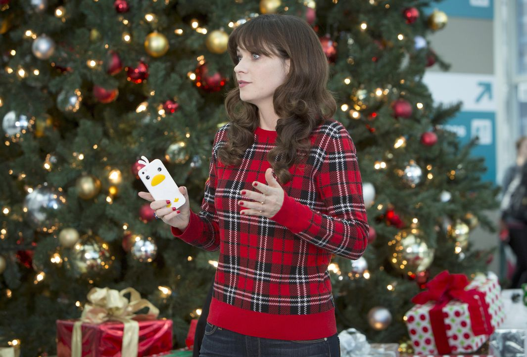Für Jess (Zooey Deschanel) ist Weihnachten etwas ganz besonderes und so, wie es dieses Jahr abläuft, hat sie es sich wirklich nicht vorgestellt ... - Bildquelle: 2014 Twentieth Century Fox Film Corporation. All rights reserved.