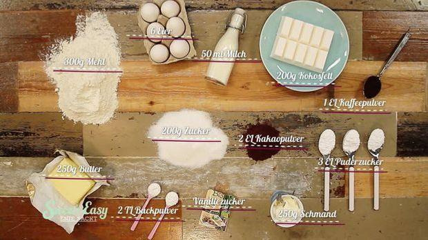 Zutaten Schimmel Kuchen