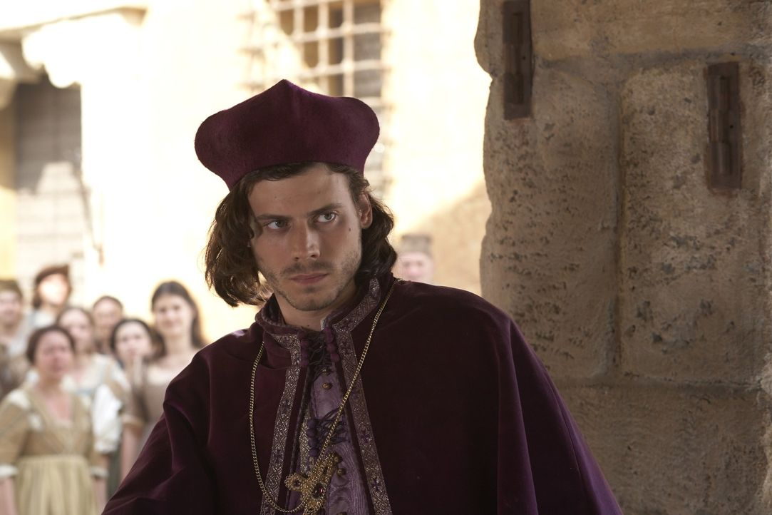 Cesare (Francois Arnaud) macht sich keine Illusionen: Er weiß, dass die Römer alles dafür tun würden, um seinen Vater und dessen Familie loszuwe... - Bildquelle: LB Television Productions Limited/Borgias Productions Inc./Borg Films kft/ An Ireland/Canada/Hungary Co-Production. All Rights Reserved.