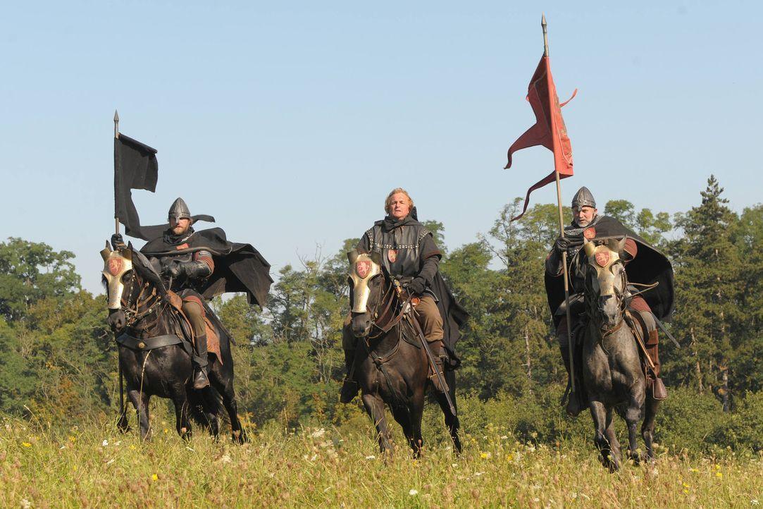 König Sigismunds Truppen ziehen in den Krieg gegen die Hussiten ... - Bildquelle: Jiri Hanzl SAT. 1