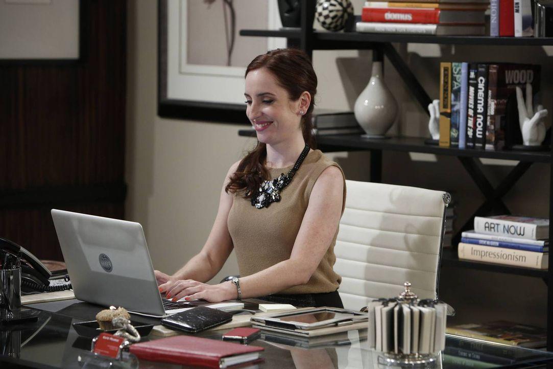 Kate (Zoe Lister-Jones) ist sich sicher, dass Online-Dating nur etwas für Loser ist - eigentlich ... - Bildquelle: 2013 CBS Broadcasting, Inc. All Rights Reserved.
