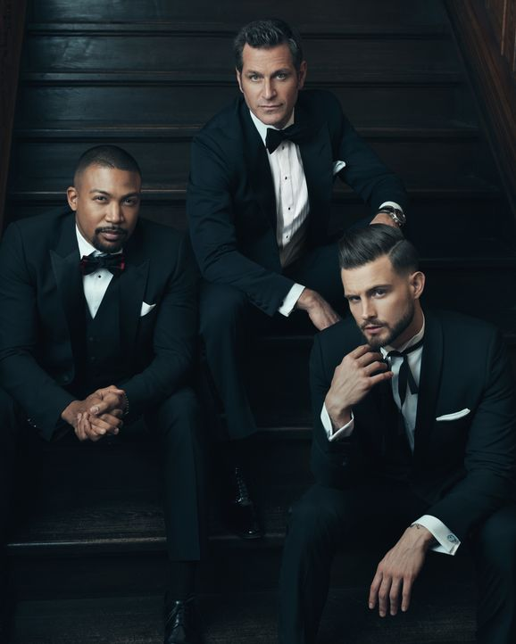 (6. Staffel) - (v.l.n.r.) Zane Anders (Charles Michael Davis); Charles Brooks (Peter Hermann); Josh (Nico Tortorella) - Bildquelle: Norman Jean Roy 2019 Viacom International Inc. All Rights Reserved / Norman Jean Roy