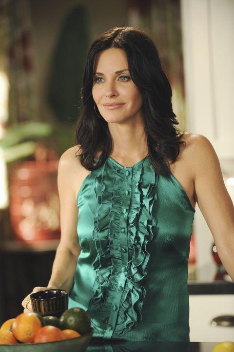 Jules (Courteney Cox) erinnert sich an ihre ausgelassene, partyreiche Jugend, die sie derzeit wieder aufleben lässt ... - Bildquelle: 2009 ABC INC.