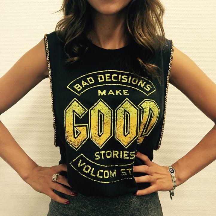 Stylecheck mit Melissa Khalaj: Shirt - Bildquelle: sixx