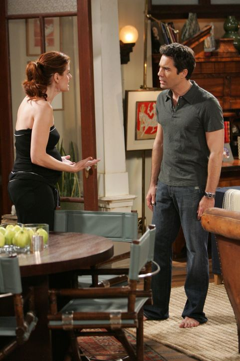 Ein Versprechen muss gehalten werden - auch wenn es ein großes Opfer mit sich bringt: Will (Eric McCormack, r.) und Grace (Debra Messing, l.) ... - Bildquelle: Chris Haston NBC Productions