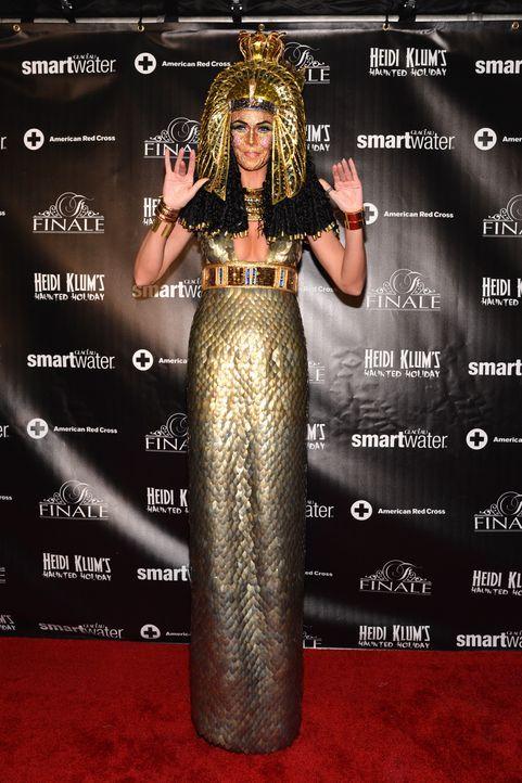 Heidi Klum: Halloween als weiblicher Pharao - Bildquelle: AFP