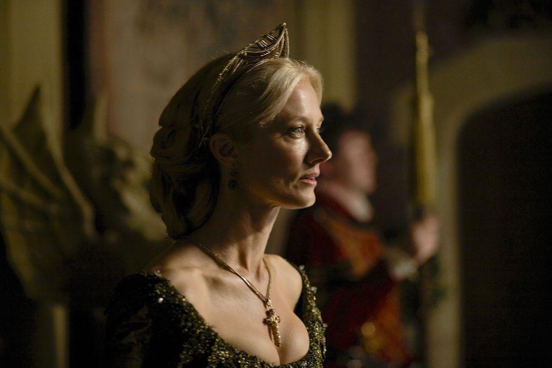 König Henry VIII. setzt alles daran, um die attraktive Catherine Parr (Joely Richardson) heiraten zu können ... - Bildquelle: 2010 TM Productions Limited/PA Tudors Inc. An Ireland-Canada Co-Production. All Rights Reserved.