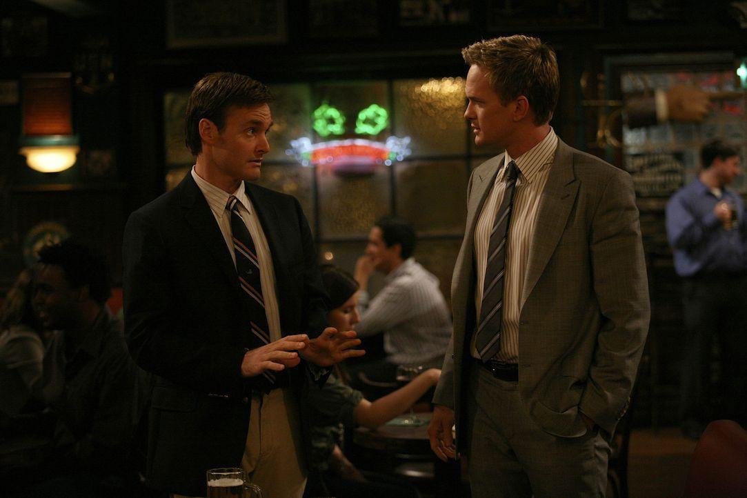 """Randy (Will Forte, l.) bewundert Barney (Neil Patrick Harris, r.) schon seit langem und freut sich darauf, Barneys Co-Pilot beim """"Frauen-klar-machen... - Bildquelle: 20th Century Fox International Television"""