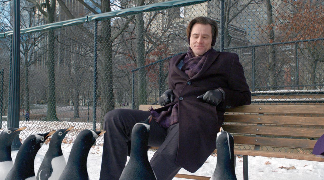 Der Geschäftsmann Tom Popper (Jim Carrey) führt ein geordnetes Arbeitsleben, in dem fast keine Zeit für seine beiden Kinder, geschweige denn für Fre... - Bildquelle: 2011 Twentieth Century Fox Film Corporation. All rights reserved.