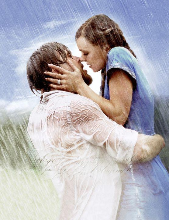 Jede große Liebe hat eine große Geschichte: Noah (Ryan Gosling, l.) und Allie (Rachel McAdams, r.) ... - Bildquelle: Warner Brothers International Television