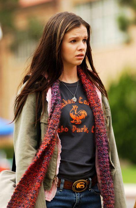 Aus Angst für verrückt gehalten zu werden, redet Joan (Amber Tamblyn) mit niemandem über ihr Geheimnis ... - Bildquelle: Sony Pictures Television