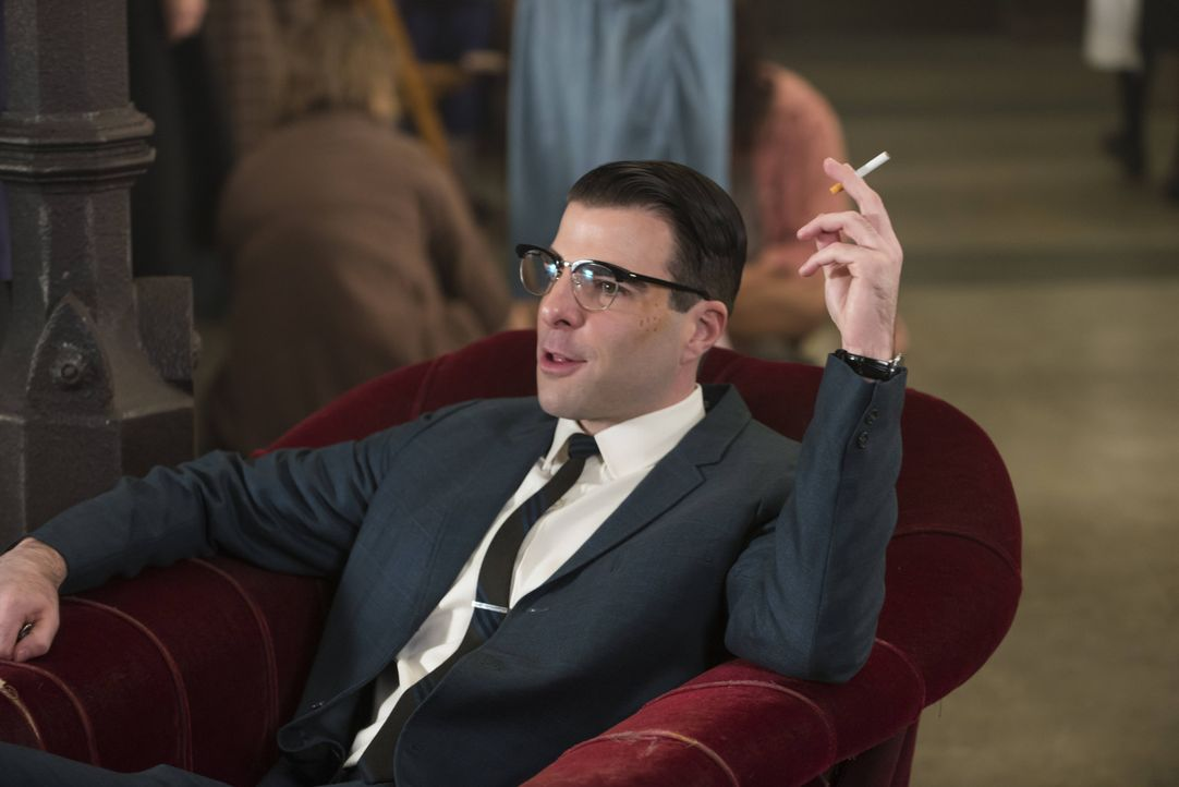 Wieder zurück in Briarcliff: Dr. Oliver Thredson (Zachary Quinto) - Bildquelle: 2012-2013 Twentieth Century Fox Film Corporation. All rights reserved.