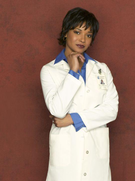 (1. Staffel) - Die Gerichtsmedizinerin Lanie Parish (Tamala Jones) ist eine Freundin von Kate Beckett und die einzige, der gegenüber sich die Teamch... - Bildquelle: ABC Studios