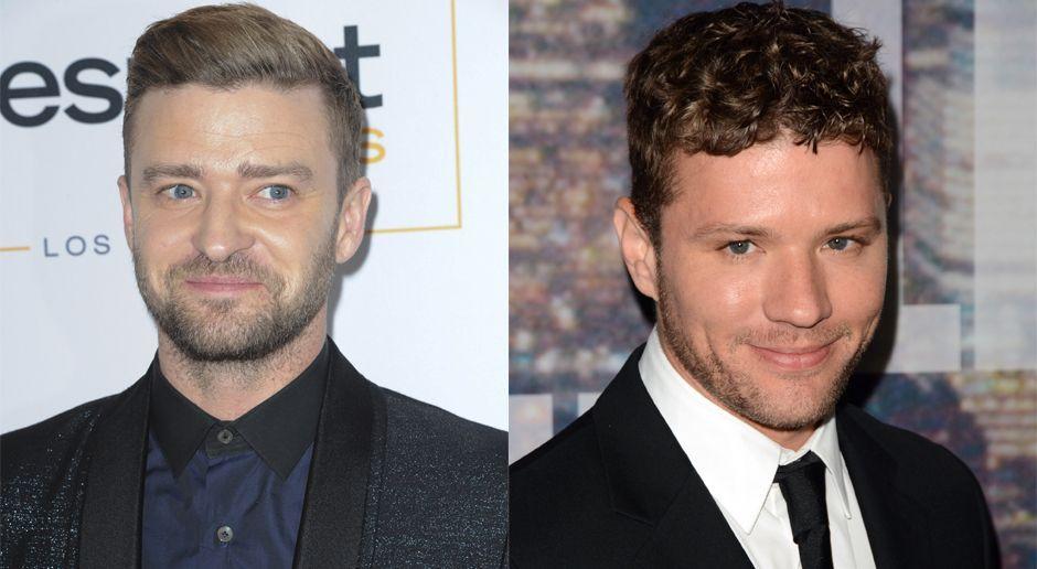 Justin Timberlake und Ryan Phillippe - Bildquelle: WENN.com
