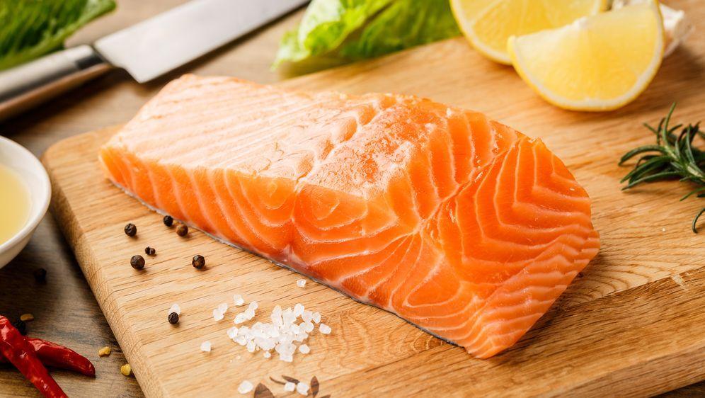 Lachs Auf Asiatische Art Fisch Rezept Von Jamie Oliver