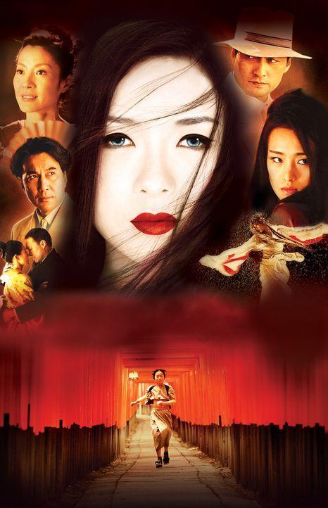 Bereits als Kind musste Sayuri Nitta (Ziyi Zhang, M.) ihr Elternhaus verlassen, um als Hausmädchen in einem Geisha-Haus Geld zu verdienen. Schon ba... - Bildquelle: 2005 Sony Pictures Television International.