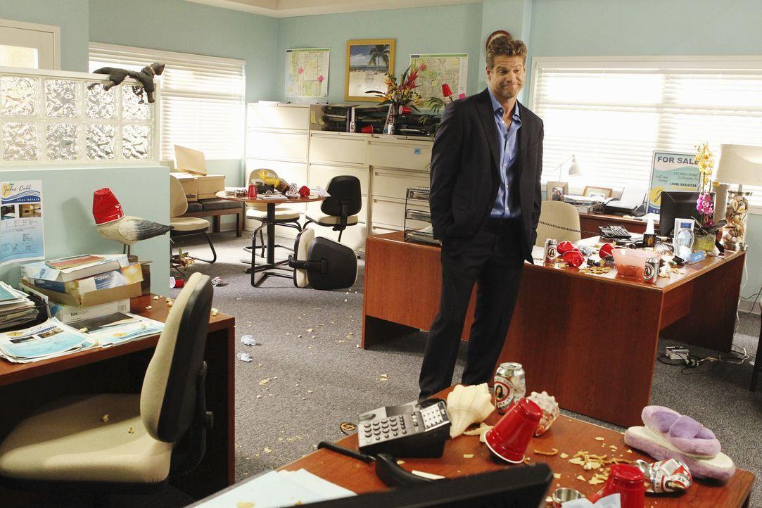 Sorgt für Chaos: Bobby (Brian Van Holt) ... - Bildquelle: 2010 ABC INC.