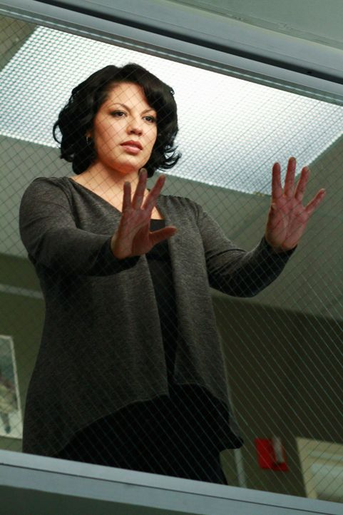 Callie (Sara Ramirez) und Arizona hatten einen schweren Autounfall und während Arizona mit ein paar Schrammen davon gekommen ist, liegt die schwange... - Bildquelle: ABC Studios