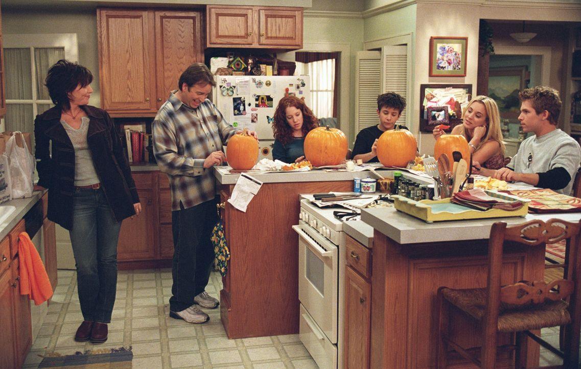 Bei Familie Hennessy sind die Vorbereitungen für Halloween in vollem Gange ... - Bildquelle: ABC, Inc.