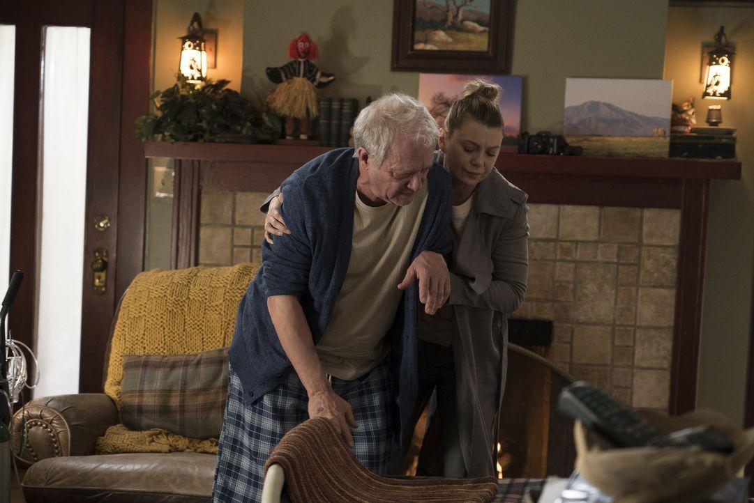 Thatcher Grey (Jeff Perry, l.); Meredith Grey (Ellen Pompeo, r.) - Bildquelle: Eric McCandless ABC Studios / Eric McCandless