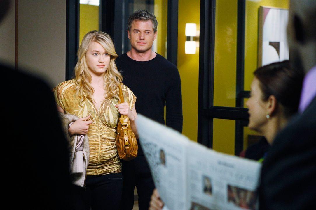 Sind nach L.A. gereist, damit Addison (Kate Walsh, r.) die komplizierte OP an Sloans ungeborenem Baby durchführen kann: Mark (Eric Dane, M.) und Slo... - Bildquelle: ABC Studios